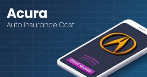 Acura auto insurance illustration