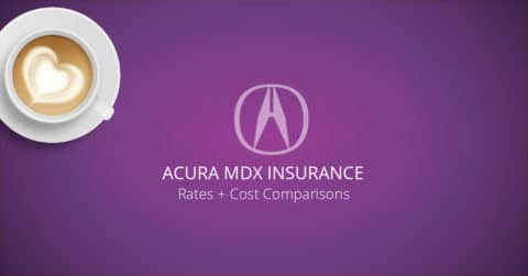 Acura MDX insurance illustration