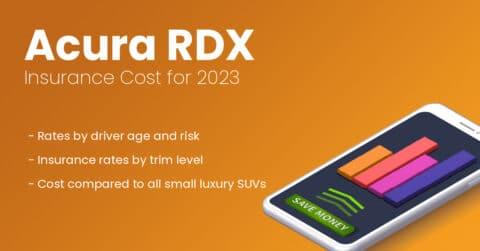 Acura RDX insurance illustration