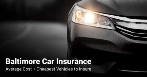 Baltimore car insurance cost and cheapest vehicles to insure
