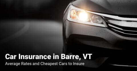 Barre, VT, car insurance cost and cheapest vehicles to insure