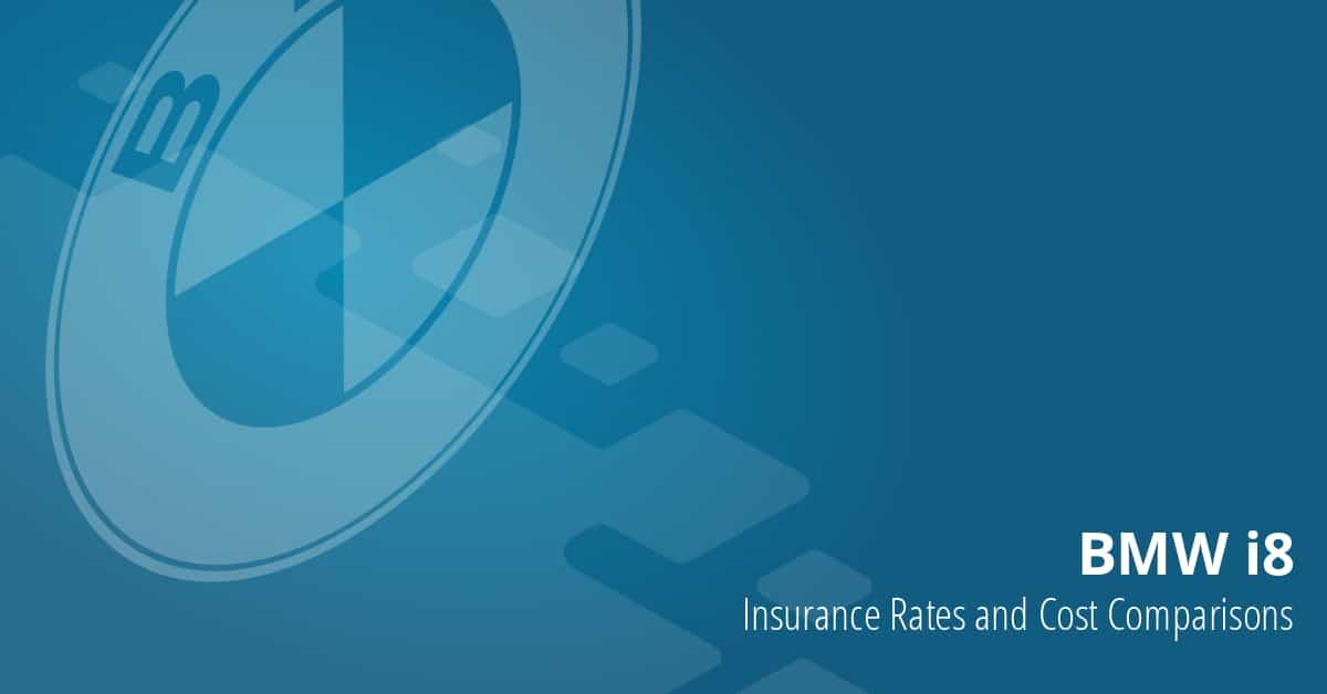 BMW i8 insurance illustration