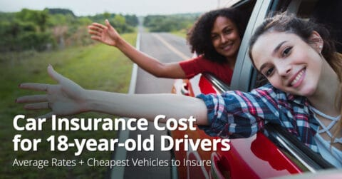 Car insurance cost for 18 year olds
