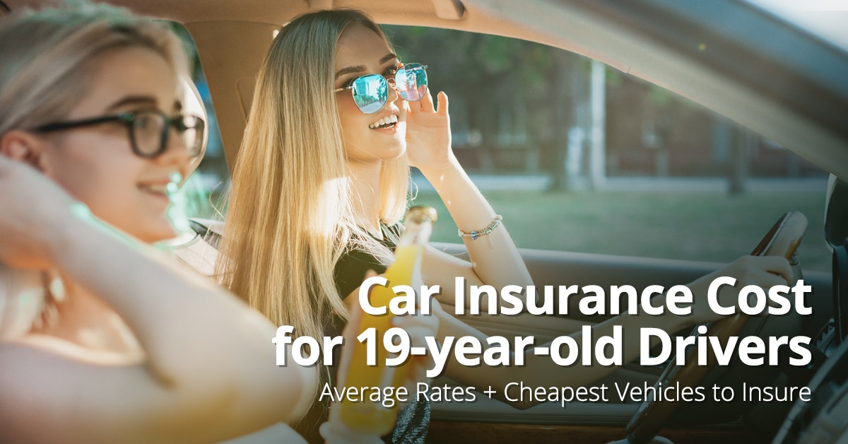 Car insurance for 19-year-olds