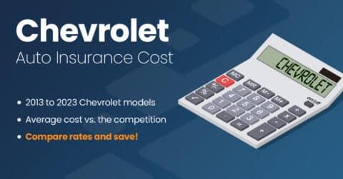 Chevrolet auto insurance illustration
