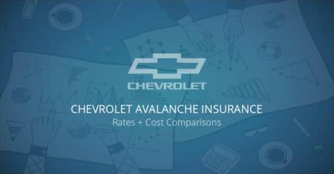 Chevrolet Avalanche insurance illustration