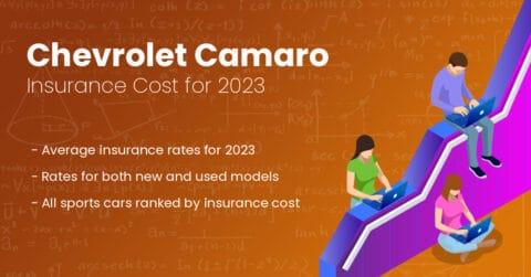 Chevrolet Camaro insurance illustration
