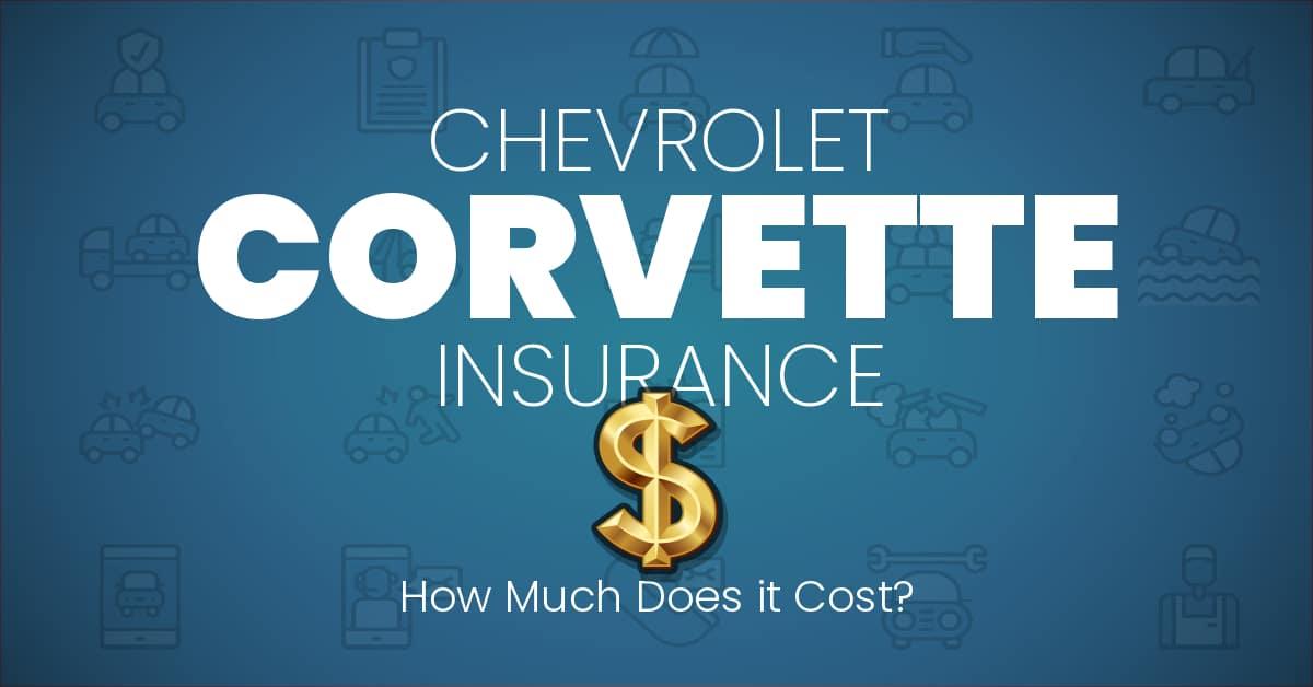Chevrolet Corvette insurance illustration
