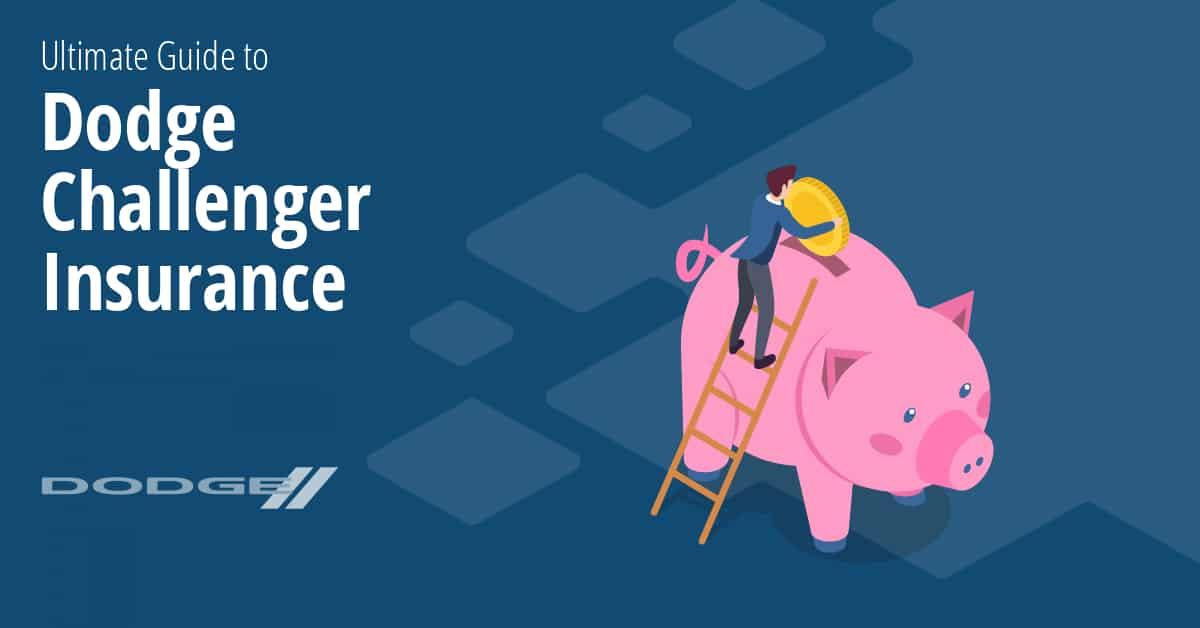 Dodge Challenger insurance illustration