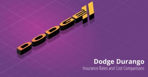 Dodge Durango insurance illustration