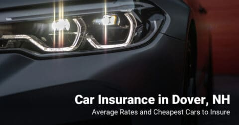 Dover, NH, car insurance cost and cheapest vehicles to insure
