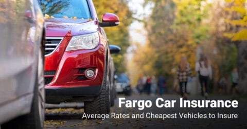 Fargo car insurance cost and cheapest vehicles to insure