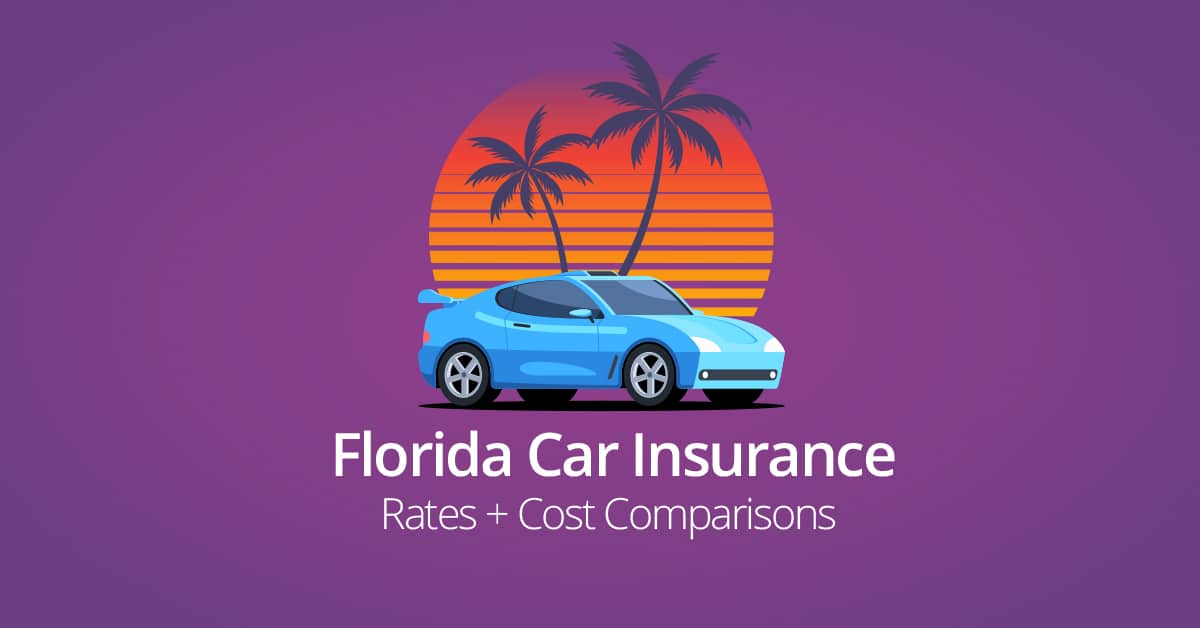 Florida car insurance cost feature image