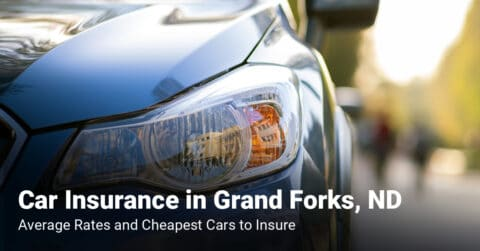 Grand Forks, ND, car insurance cost and cheapest vehicles to insure