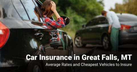 Great Falls, MT, car insurance cost and cheapest vehicles to insure