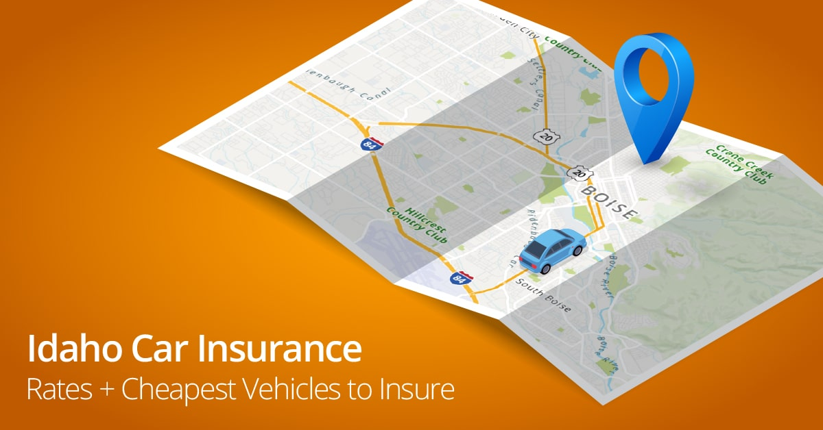 Idaho car insurance rates feature image