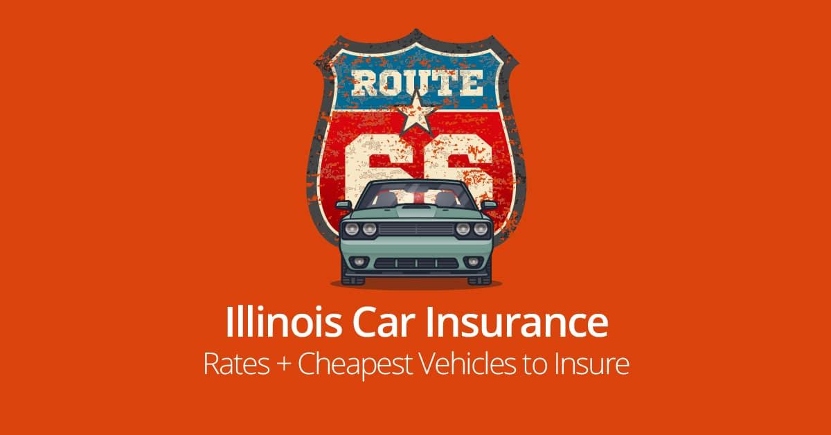 Illinois car insurance cost illustration