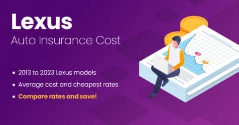 Lexus auto insurance illustration