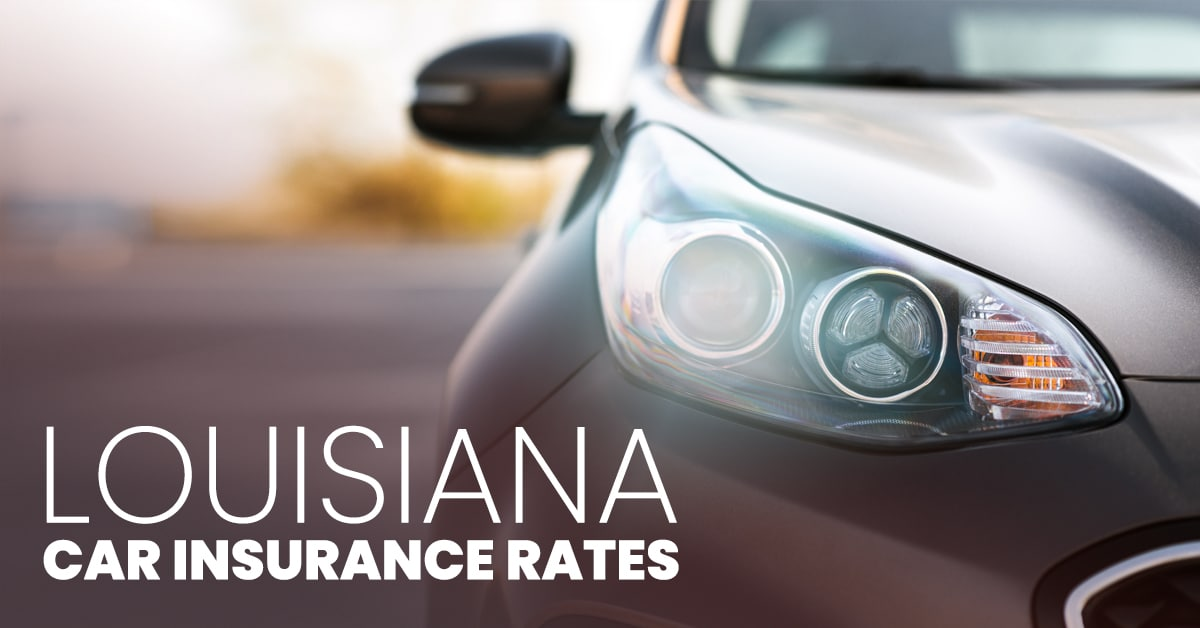 Louisiana car insurance feature image