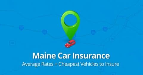 Maine car insurance feature image