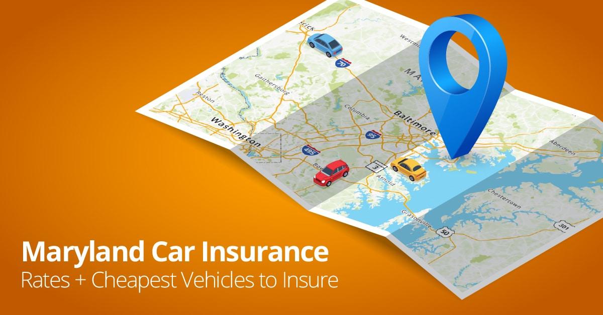 Maryland car insurance cost illustration