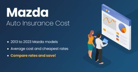 Mazda auto insurance illustration