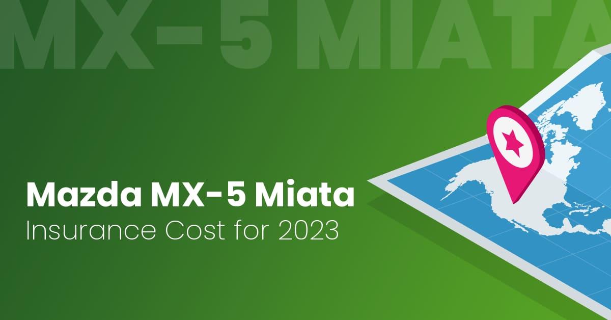 Mazda MX-5 Miata insurance illustration
