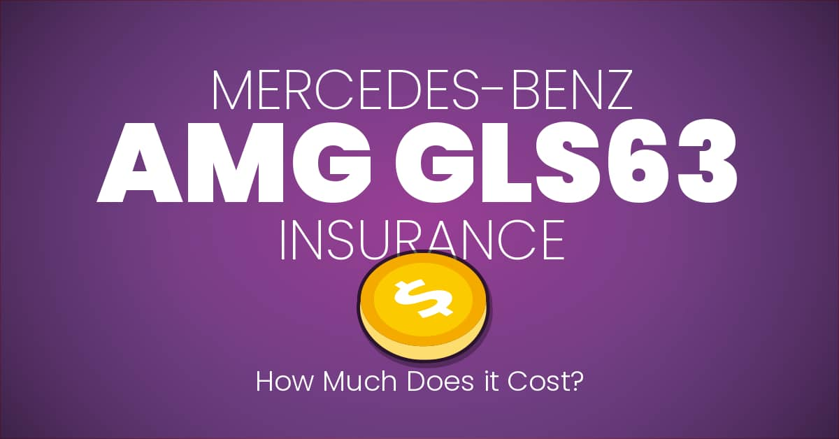 Mercedes-Benz AMG GLS63 insurance illustration