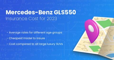 Mercedes-Benz GLS550 insurance illustration