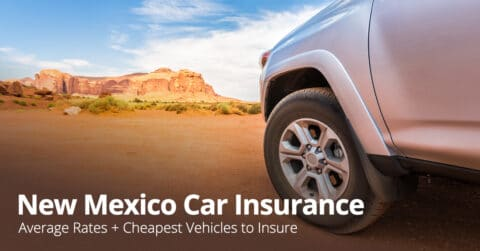 New Mexico car insurance photo illustration