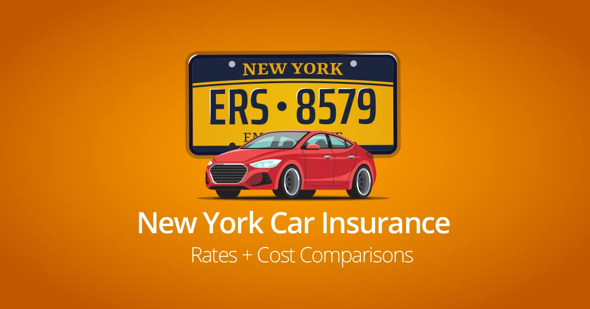 New York car insurance rates feature image