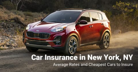 New York, NY, car insurance cost and cheapest vehicles to insure