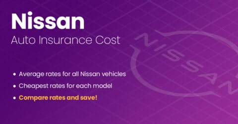 Nissan auto insurance illustration