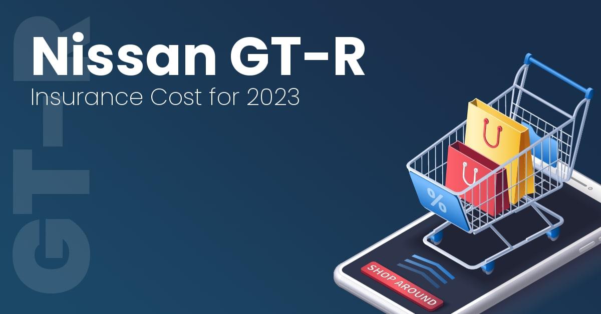 Nissan GT-R insurance illustration