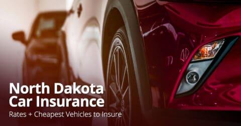 North Dakota car insurance feature image