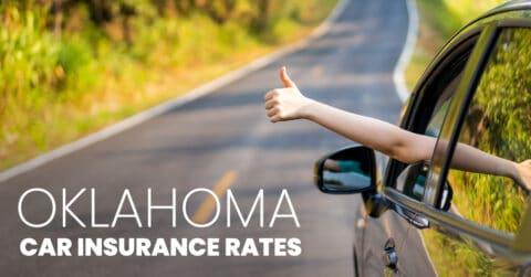 Oklahoma car insurance rates feature image