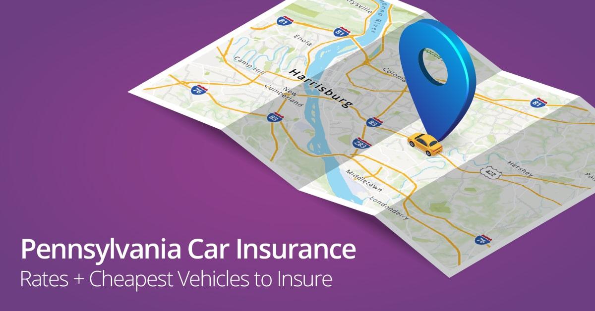 Pennsylvania car insurance cost illustration