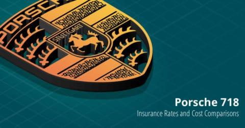 Porsche 718 insurance illustration