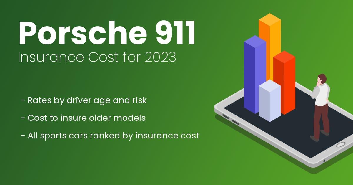 Porsche 911 insurance illustration