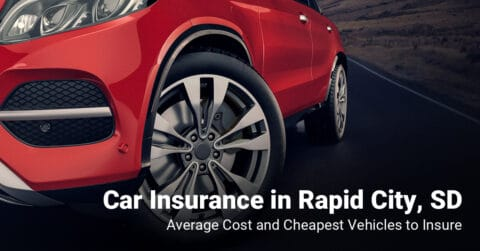 Rapid City, SD, car insurance cost and cheapest vehicles to insure