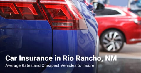 Rio Rancho, NM, car insurance cost and cheapest vehicles to insure