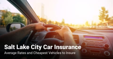 Salt Lake City car insurance cost and cheapest vehicles to insure