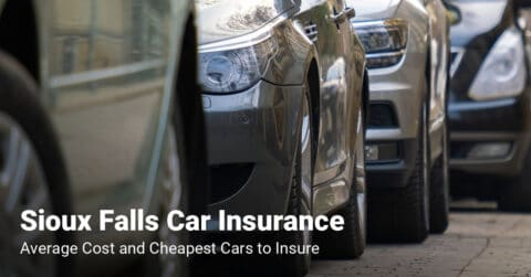 Sioux Falls car insurance cost and cheapest vehicles to insure
