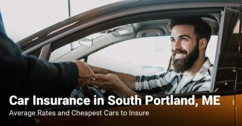 South Portland, ME, car insurance cost and cheapest vehicles to insure