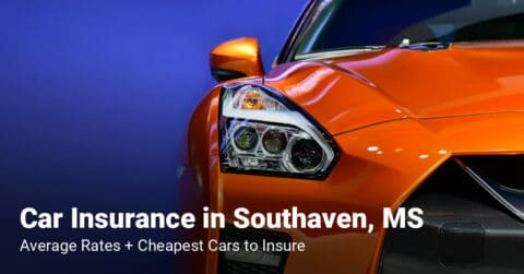 Southaven, MS, car insurance cost and cheapest vehicles to insure