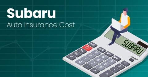 Subaru auto insurance illustration