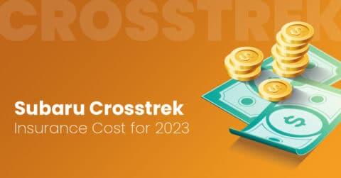 Subaru Crosstrek insurance illustration