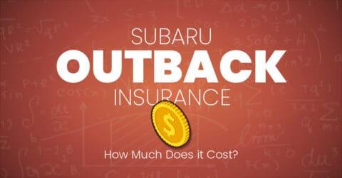 Subaru Outback insurance illustration