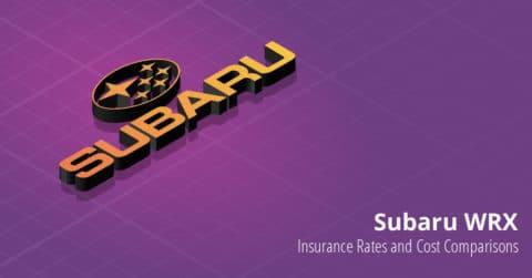 Subaru WRX insurance illustration