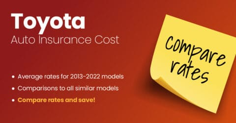 Toyota auto insurance illustration